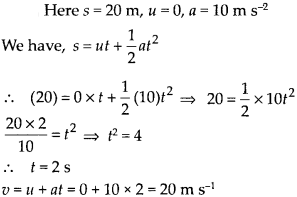 NCERT Solutions for Class 9 Science Chapter 8 Motion 23