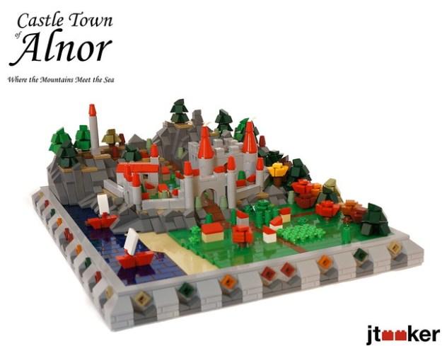 阿尔诺城堡城