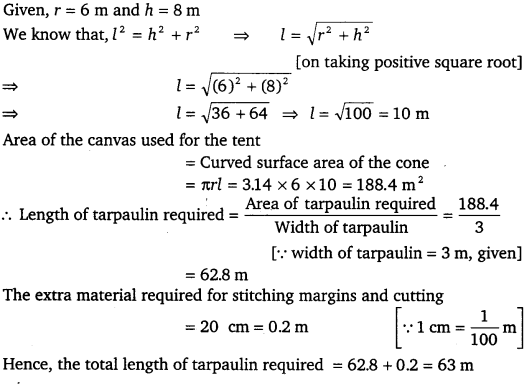 NCERT Solutions for Class 9 Maths Chapter 13 Surface Area and Volumes 12
