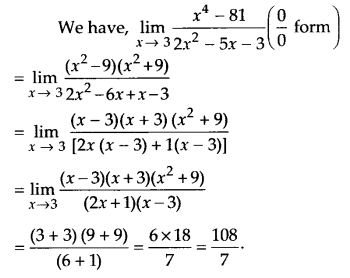 NCERT Solutions for Class 11 Maths Chapter 13 Limits and Derivatives 17
