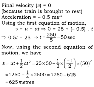 RBSE Solutions for Class 9 Science Chapter 9 Force and Motion.19