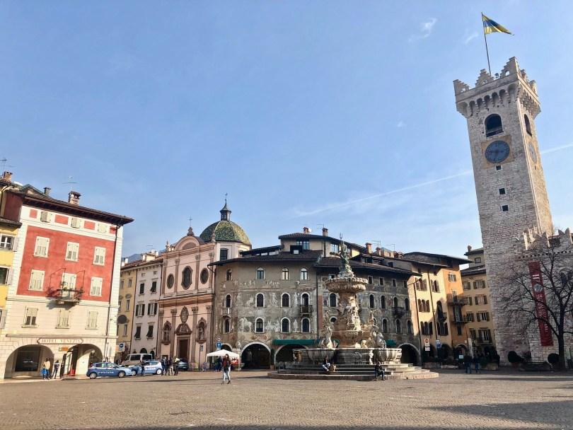 Itinerario di Trento - Piazza Duomo
