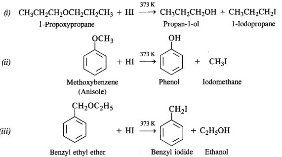 NCERT Solutions for Class 12 Chemistry Chapter 11 Alcohols, Phenols and Ehers ex 28