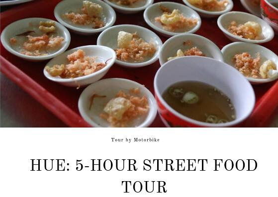 STREET FOOD TOUR HUE
