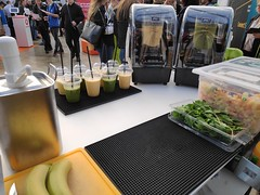 mobile Smoothiebar, Smoothie Catering , mobile Smoothiebar, messe Catering, Düsseldorf für Ashfild in der Klassik Remise auf der Jobvector