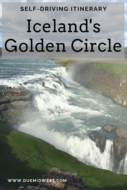 The Golden Circle is one of the top tourist attractions in Iceland and can easily be done on your own. Even if you're short on time you can still see everything in a day! This guide will show you where all the best stops are along the way. #iceland #goldencircle #roadtrip
