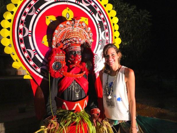 La danza Kathakali