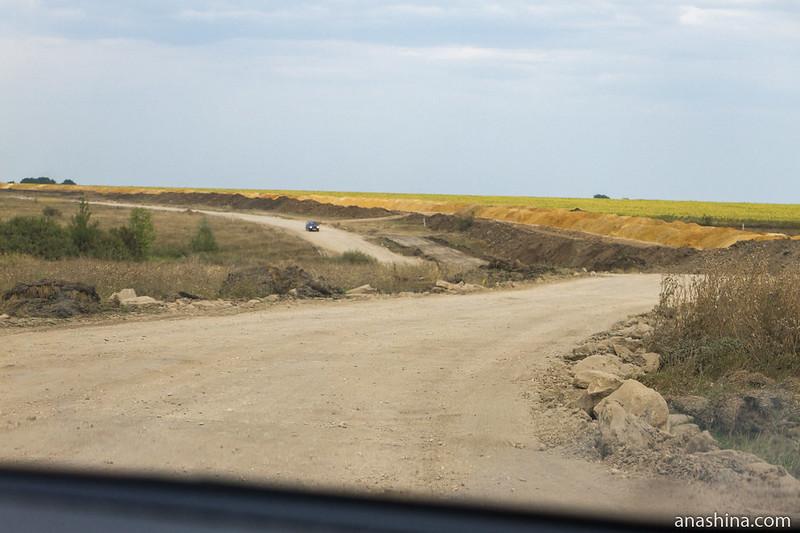 Ремонт дороги, Саратовская область