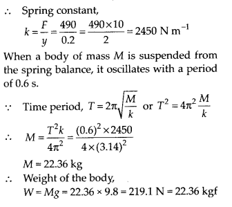 NCERT Solutions for Class 11 Physics Chapter 14 Oscillation 5
