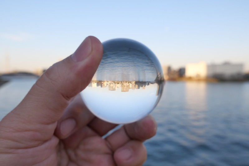 river side lens ball