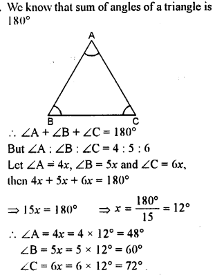 Selina Concise Mathematics class 7 ICSE Solutions - Triangles -a9
