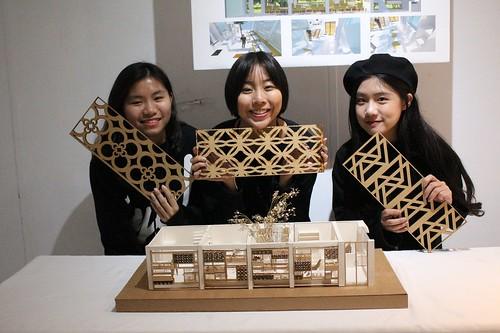 第一名的「烹烹屋」,是由張匯苡、蔡瑋倫及薛榆潔所創作