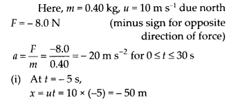 NCERT Solutions for Class 11 Physics Chapter 5 Law of Motion 7