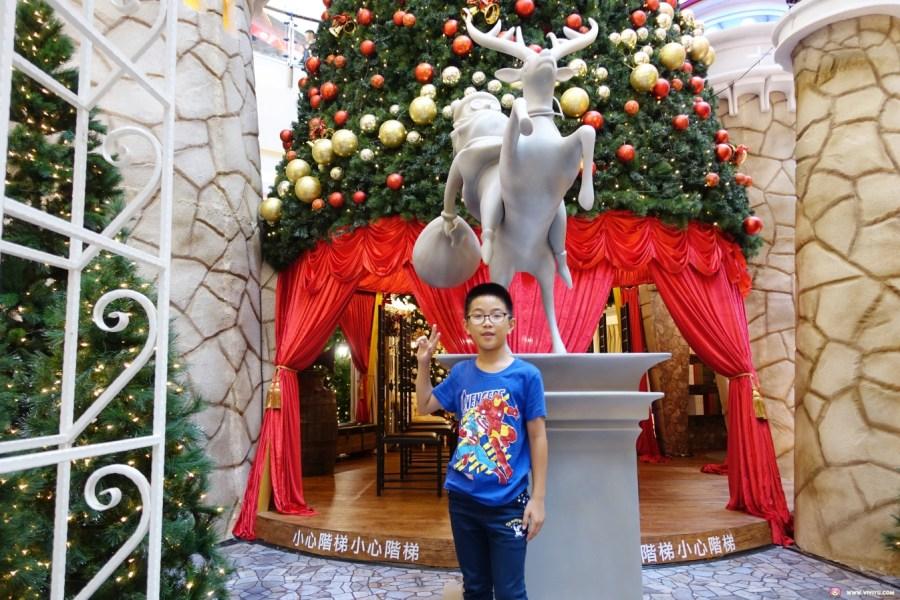 中壢旅遊,全年免費停車,大江購物中心,室內最大耶誕城,桃園一日遊,桃園中壢美食,聖誕來我家,聖誕拍照打卡,聖誕老人假日快閃,聖誕老人的家 @VIVIYU小世界
