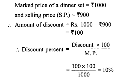 Selina Concise Mathematics class 7 ICSE Solutions - Profit, Loss and Discount-c2