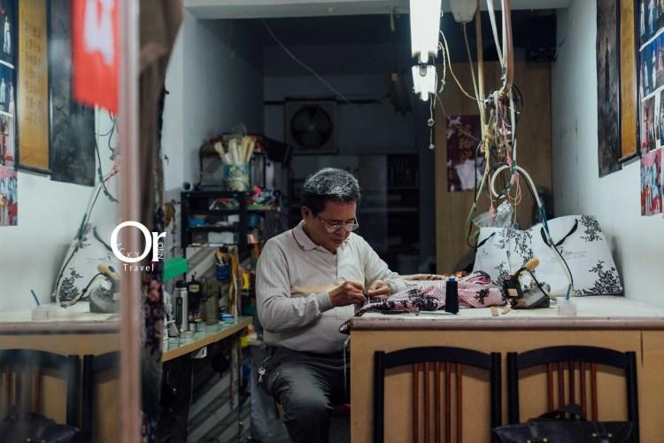 傳統旗袍店 玉鳳旗袍專家,藏在大稻埕巷弄間的旗袍店,是個電影服裝大師,讓旗袍隨著時代成長
