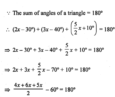 Selina Concise Mathematics Class 6 ICSE Solutions - Triangles (Including Types, Properties and Constructions) -4