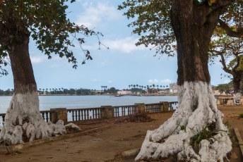 Tot slot nog even een rondje te voet door de hoofdstad, São Tomé.