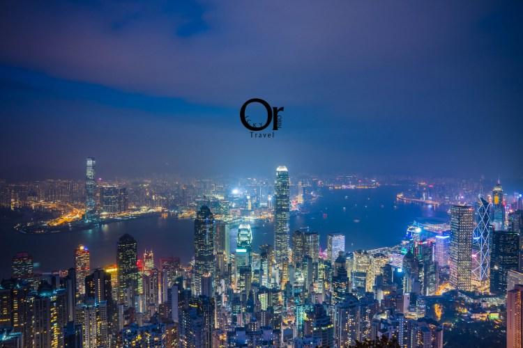 香港攝影景點|盧吉道眺望香港夜色,別於凌霄閣在太平山上的另一個夜景點,更不一樣的香港夜景視野