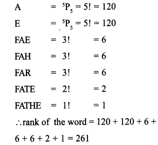 Plus One Maths Model Question Papers Paper 3A12