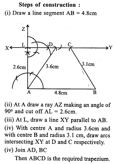 ML Aggarwal Class 9 Solutions for ICSE Maths Chapter 13 Rectilinear Figures  ex 2  23