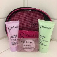 Beauty 'n Fashion: Trying out some samples (Qiriness 3-step at home system)