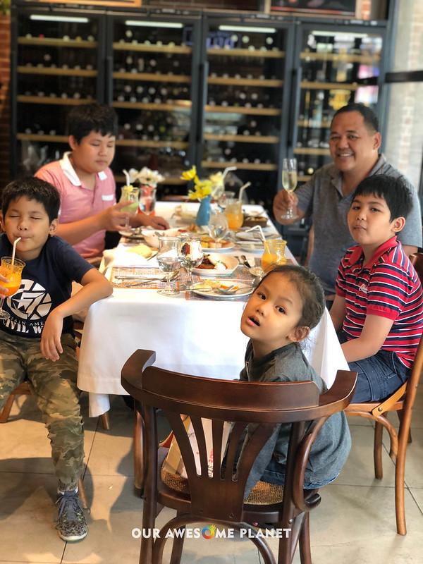 Desayuno Breakfast with the Boys