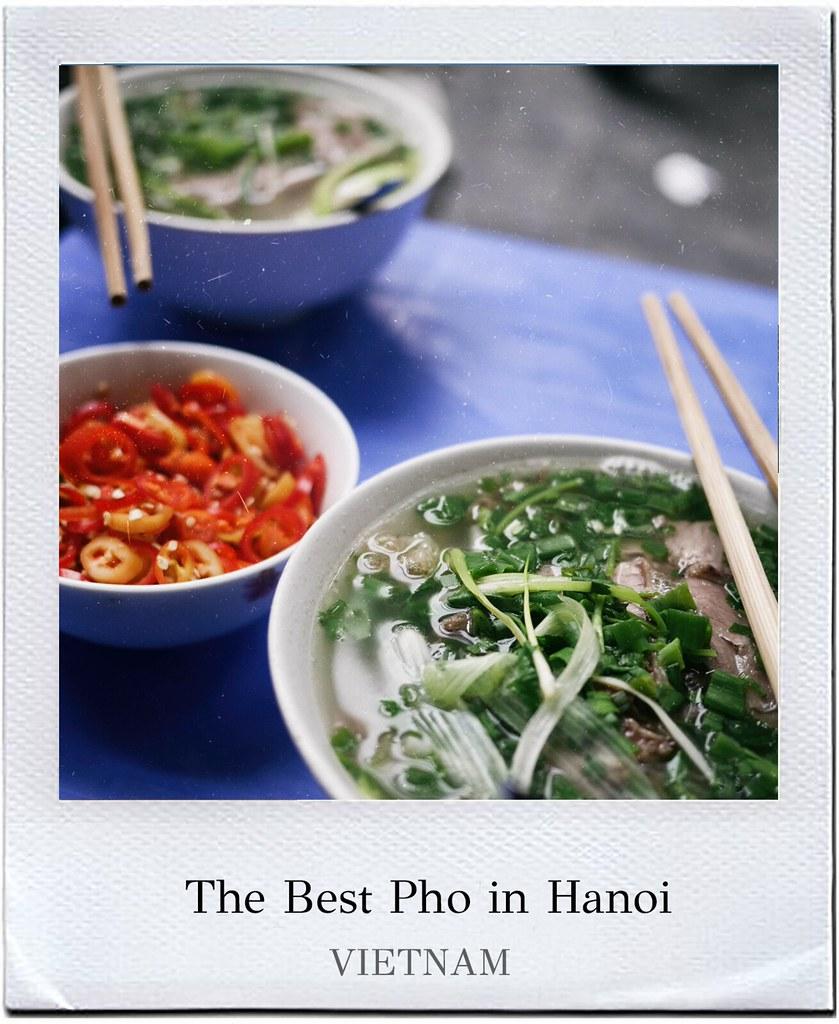 Best pho in Hanoi
