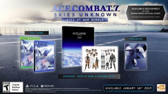 Ace Combat 7 Aces at War Bundle Pack
