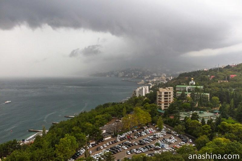 На Ялту надвигается буря