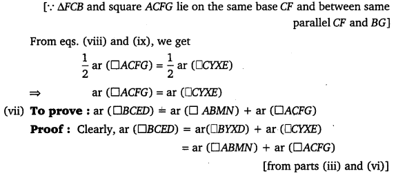 NCERT Solutions for Class 9 Maths Chapter 9 Area of parallelograms and Triangles 54