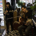 Luka and Jenny Berkel @ The Record Centre