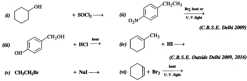 NCERT Solutions for Class 12 Chemistry Chapter 11 Alcohols, Phenols and Ehers tq 5