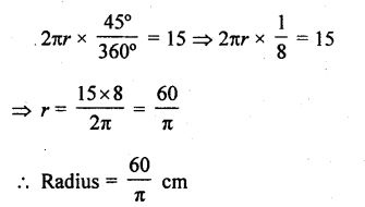 RD Sharma Class 10 Solutions Chapter 13 Areas Related to Circles Ex 13.2 - 4a