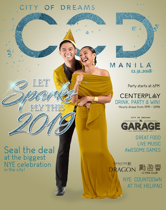 New Year's Eve Countdown Party at City of Dreams Manila