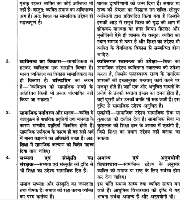 UP Board Solutions for Class 11 Pedagogy Chapter 3 Aims of Education 7