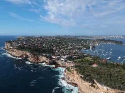 3D Coastline - Watsons Bay #marineexplorer
