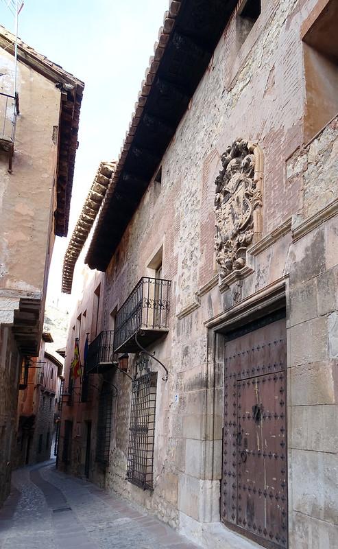 Casa de los Monterde y Antillón Albarracin Teruel