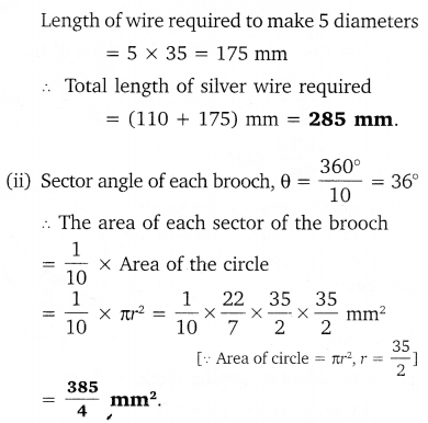 NCERT Solutions for Class 10 Maths Chapter 12 Areas Related to Circles 20