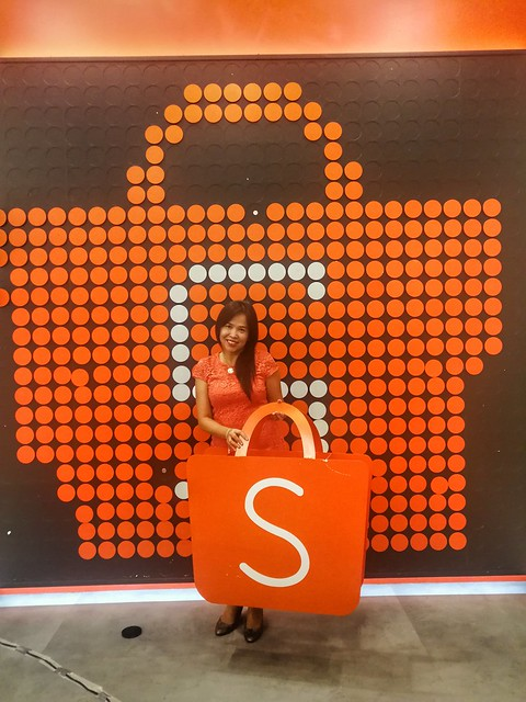 At Shopee office