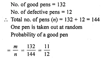 RD Sharma Class 10 Solutions Chapter 16 Probability Ex 16.1 36