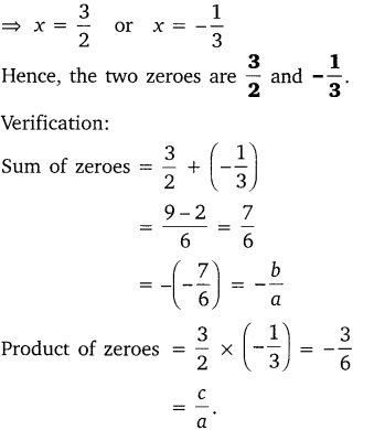 NCERT Solutions for Class 10 Maths Chapter 2 Polynomials e1 2a