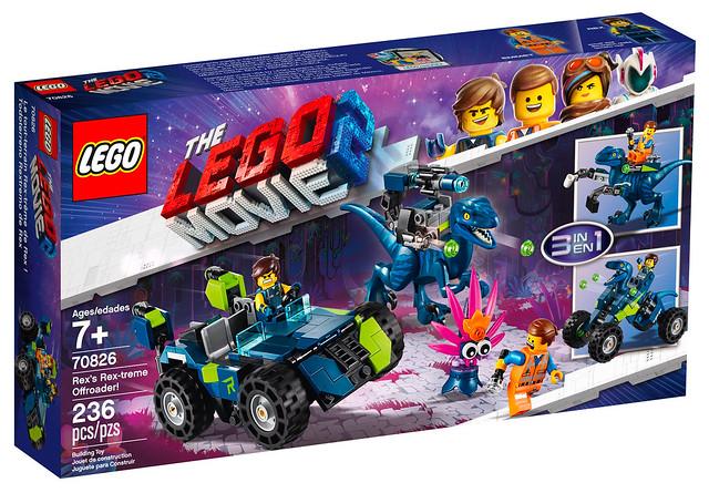 LEGO Movie 2 70826 Rex's Rextreme Offroader 01