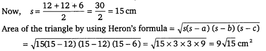 NCERT Solutions for Class 9 Maths Chapter 12 Heron's Formula 8