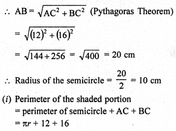 RD Sharma Class 10 Solutions Chapter 13 Areas Related to Circles Ex 13.4 - 41a