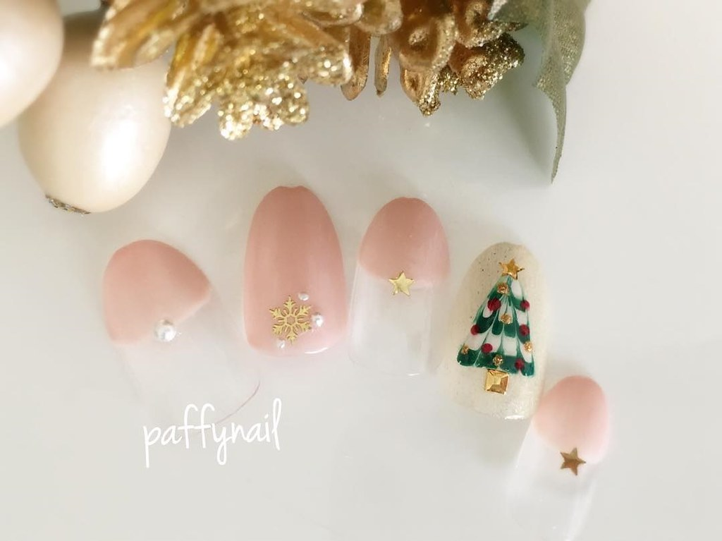 ♥ 聖誕節的簡約搭配!美甲的重要節日 3