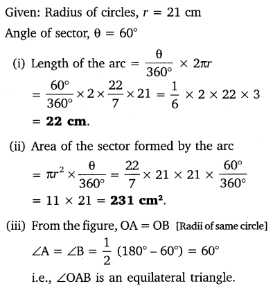 NCERT Solutions for Class 10 Maths Chapter 12 Areas Related to Circles 10