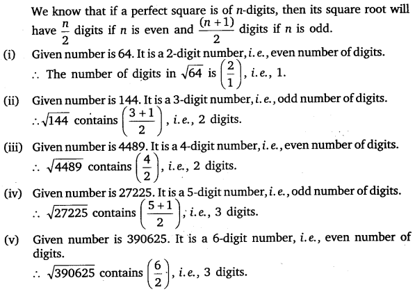 NCERT Solutions for Class 8 Maths Chapter 6 Squares and Square Roots 26