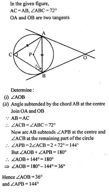 Selina Concise Mathematics Class 10 ICSE Solutions Chapterwise Revision Exercise 82A