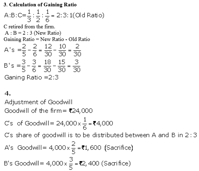 TS Grewal Accountancy Class 12 Solutions Chapter 5 Retirement Death of a Partner Q38.7